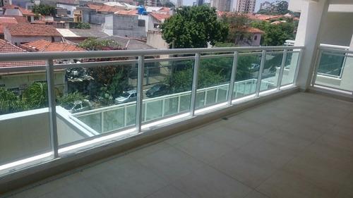 Guarda corpo aluminio e vidro