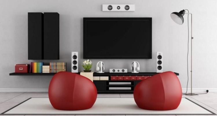 Sistema de som ambiente para sala